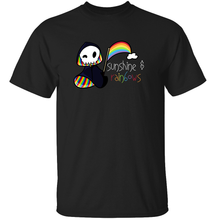 Load image into Gallery viewer, Rainbow Grim Reaper T Shirt from TeeRexTee.com