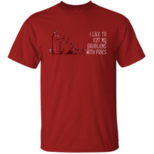 Load image into Gallery viewer, Eat Your Problems - Red Dragon T-Shirt