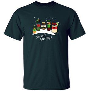 Season's Greetings - Christmas Pun T-Shirt