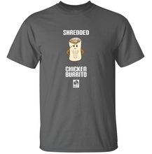 Load image into Gallery viewer, Shredded Chicken Burrito - Food Pun T-Shirt
