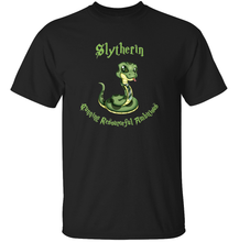 Load image into Gallery viewer, Slytherin T Shirt TeeRexTee.com