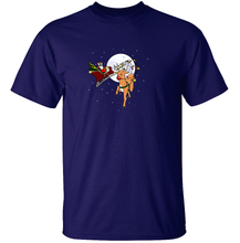 Load image into Gallery viewer, Rudolph the Red-Nosed Stantler - Pokemon Christmas T-Shirt