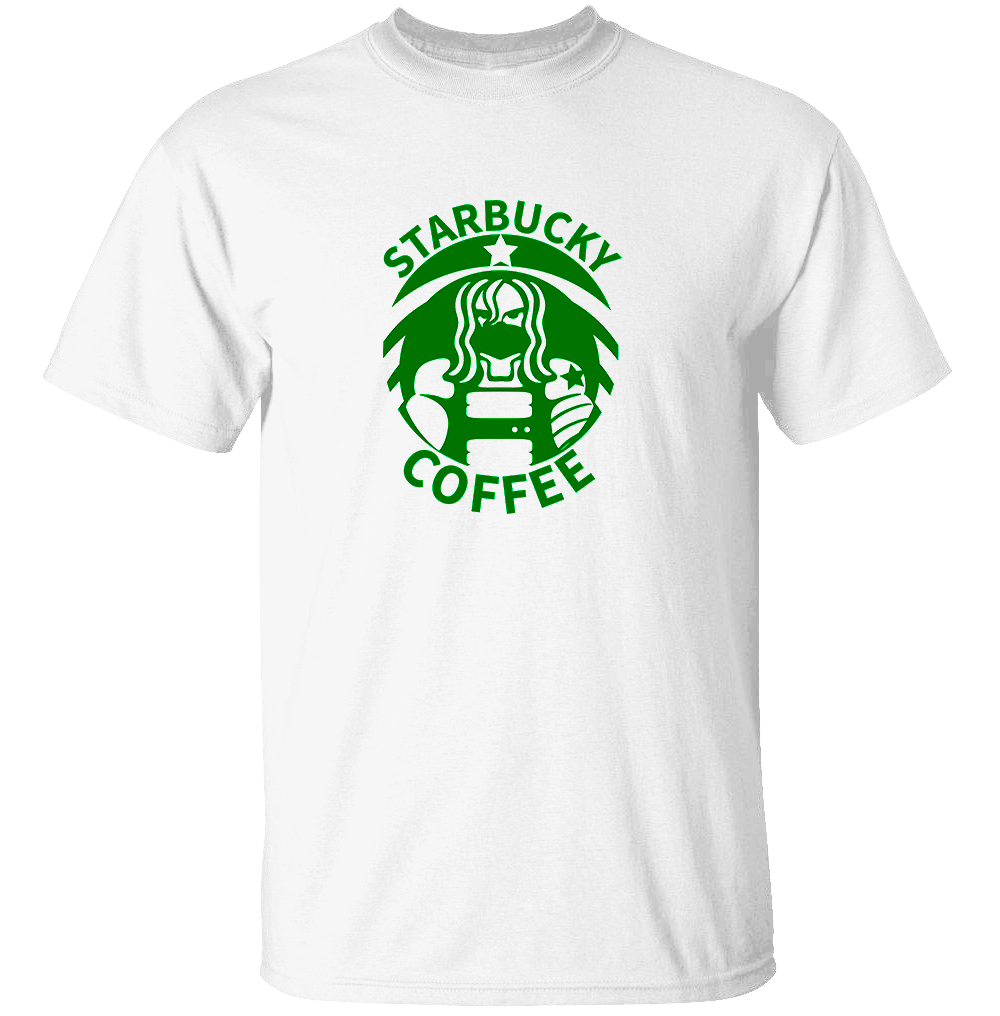 Starbucky Coffee - Captain America T-Shirt
