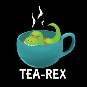 Tea-Rex - Dinosaur & Food Pun T-Shirt
