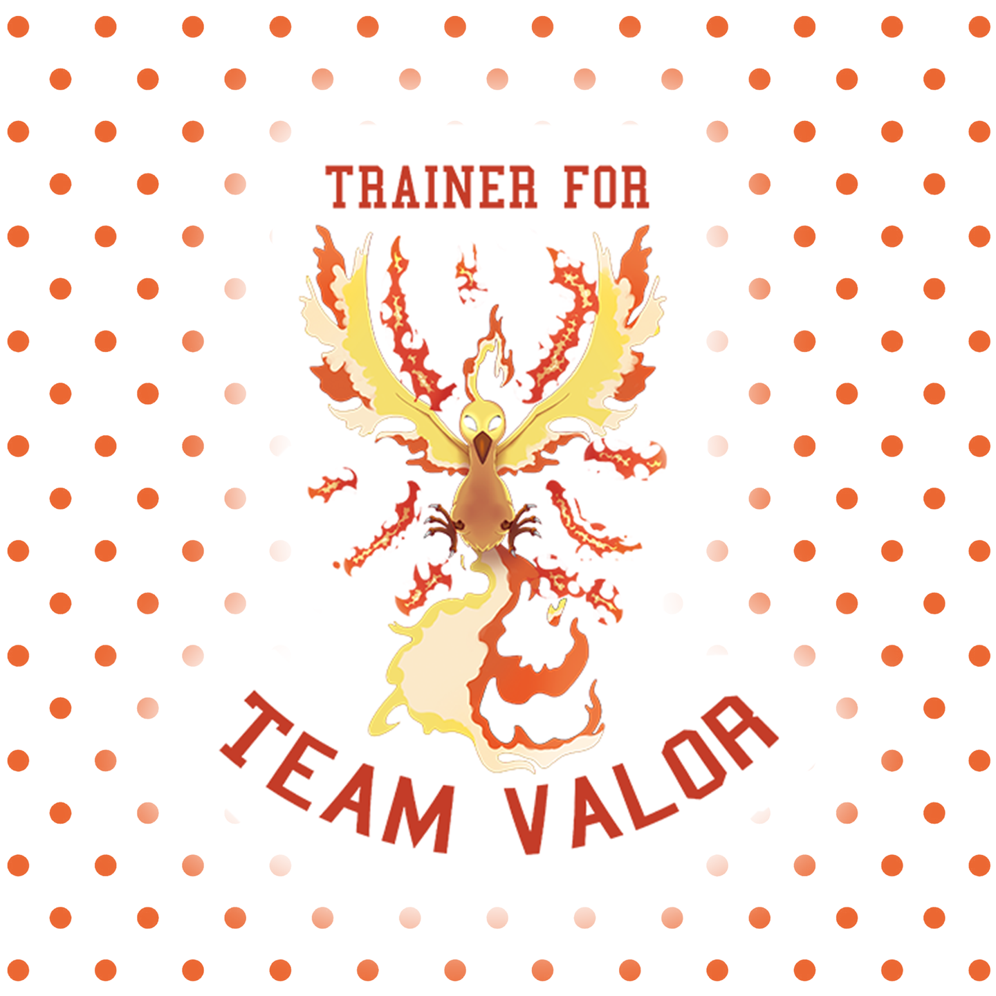 Team Valor – Pokemon Go Individual Sticker