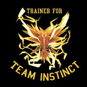 Team Instinct - Pokemon GO T-Shirt