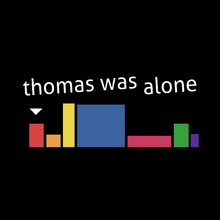 Load image into Gallery viewer, Thomas Was Alone - Video Game T-Shirt