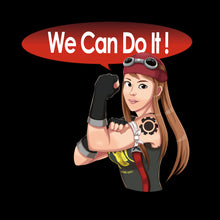 Load image into Gallery viewer, We Can Do It! - Brigitte from Overwatch T-Shirt