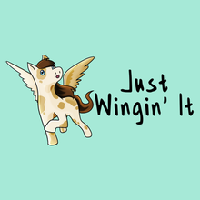 Load image into Gallery viewer, Wingin' It! - Pegasus T-Shirt
