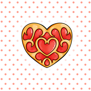 Heart Container - Legend of Zelda Individual Sticker