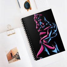 Load image into Gallery viewer, Aurora - Sleeping Beauty Spiral Notebook - Ruled Line