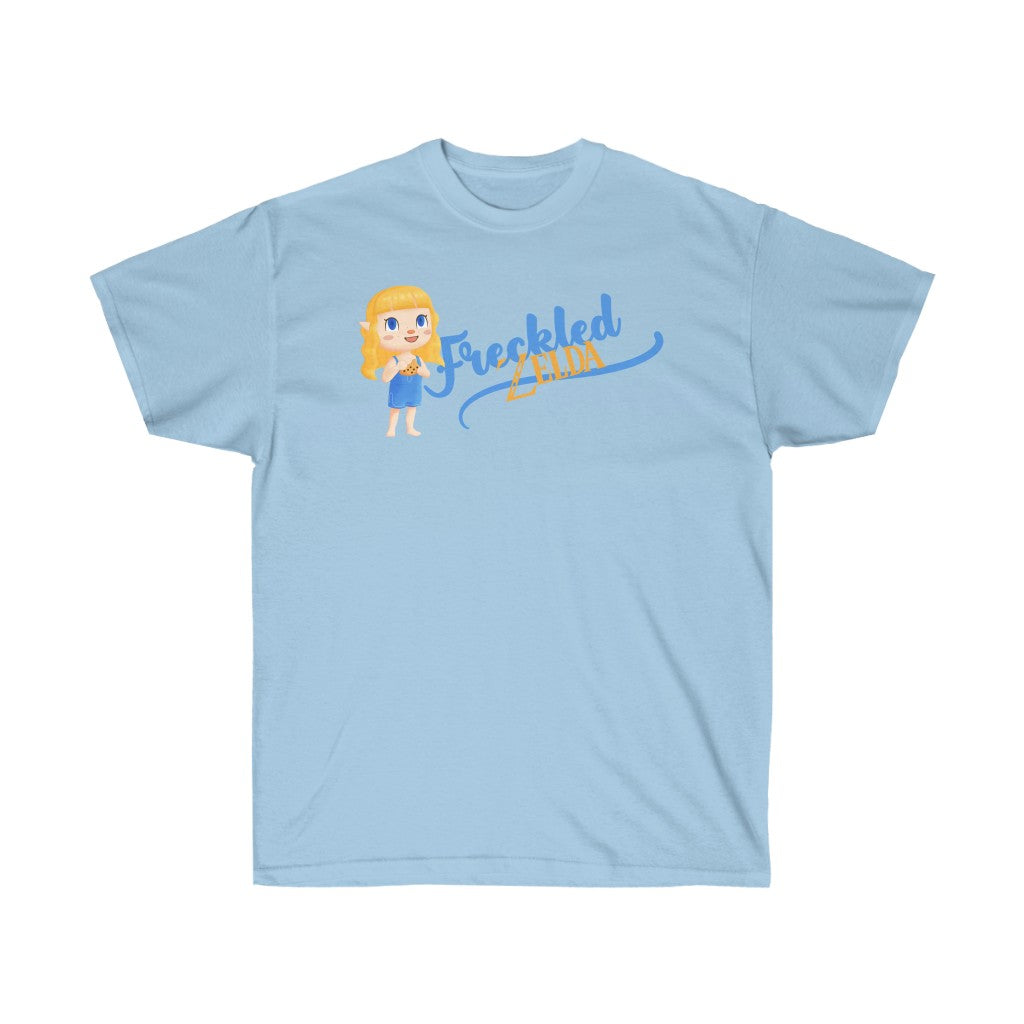 Animal Crossing Style Freckled Zelda T-Shirt