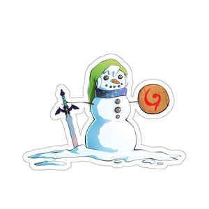 Snowman Link - Legend of Zelda Vinyl Sticker