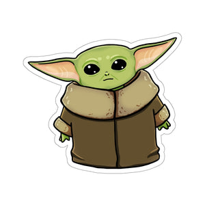 Baby Yoda - Star Wars: The Mandalorian Vinyl Sticker