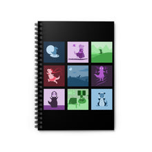 Load image into Gallery viewer, T-Rex Collection Dinosaur Spiral Notebook - Ruled Line