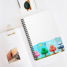 Load image into Gallery viewer, Animal Crossing Seasons Spiral Notebook - Ruled Line