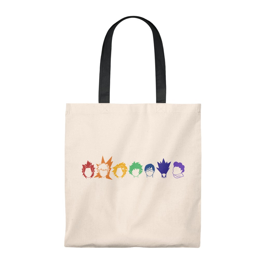 My Rainbow Hero Academia - Boku No Hero Academia Tote Bag