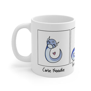Evolution of Noodle - Pokemon Mug 11oz