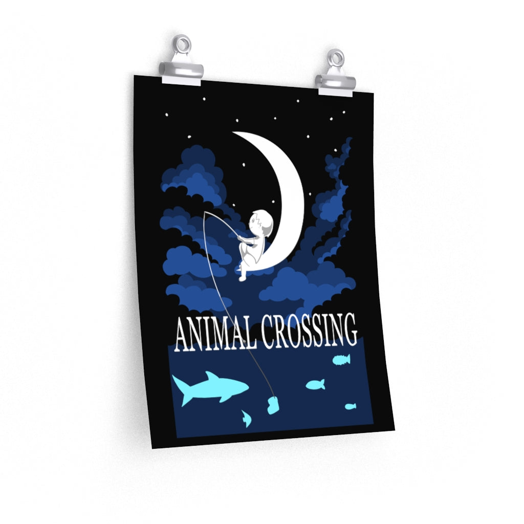 Animal Crossing: Dreamworks Style Matte Poster