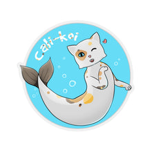 Load image into Gallery viewer, Cali-Koi - Cute Cat Pun Vinyl Sticker