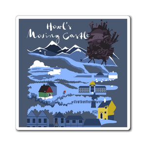 Howl's Moving Castle Magnet