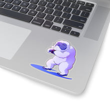 Load image into Gallery viewer, Grumpy Abominable Snowman Vinyl Sticker