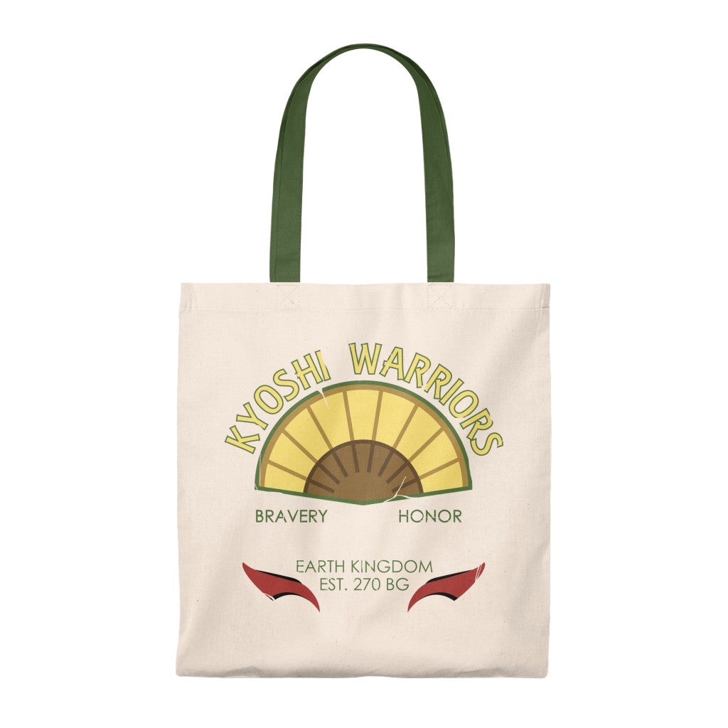 Kyoshi Warriors - Avatar: The Last Airbender Tote Bag