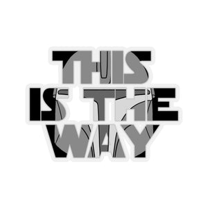 """This is the Way"" - Star Wars: The Mandalorian Vinyl Sticker"