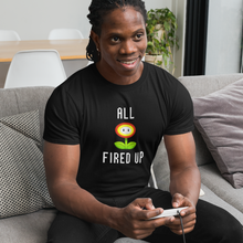 Load image into Gallery viewer, Fired Up - Mario T-Shirt