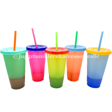 Load image into Gallery viewer, Color Changing Cups (Set of 5)
