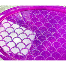 Load image into Gallery viewer, Large Mermaid Scale Tray Mold