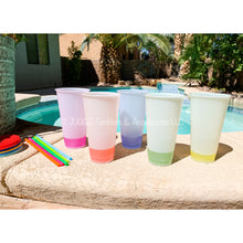Load image into Gallery viewer, Frosted Color Changing Cups (Set of 5)