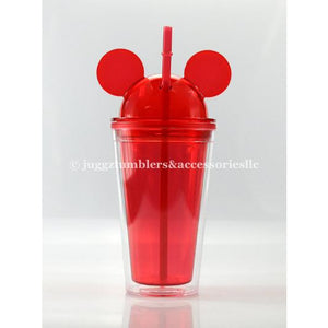 CLEARANCE Red Dome Mouse Tumbler