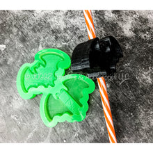 Load image into Gallery viewer, Bat Shaker Straw Topper Mold