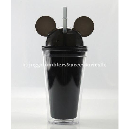 CLEARANCE Black Dome Mouse Tumbler