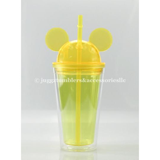 Yellow Dome Mouse Tumbler