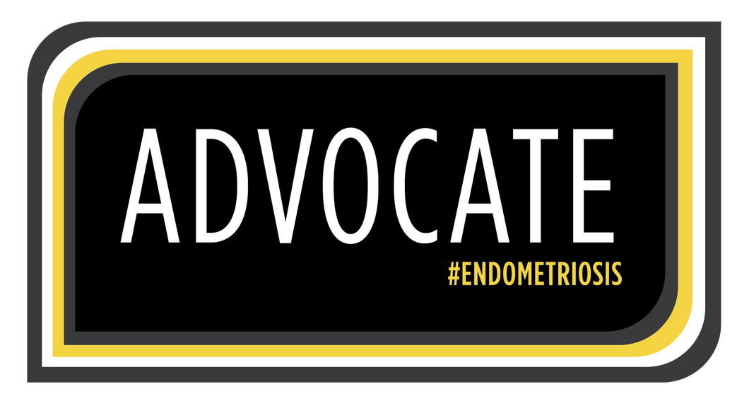ADVOCATE #ENDOMETRIOSIS Sticker