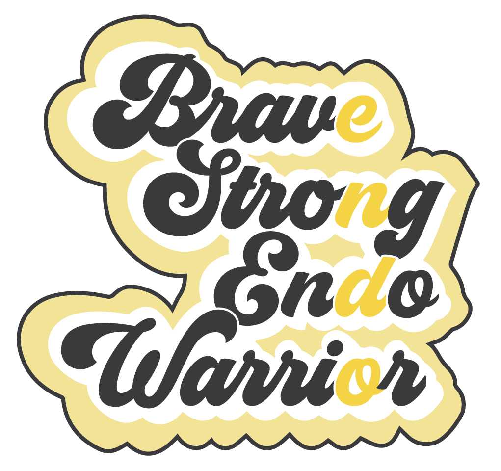 Brave Strong Endo Warrior Sticker