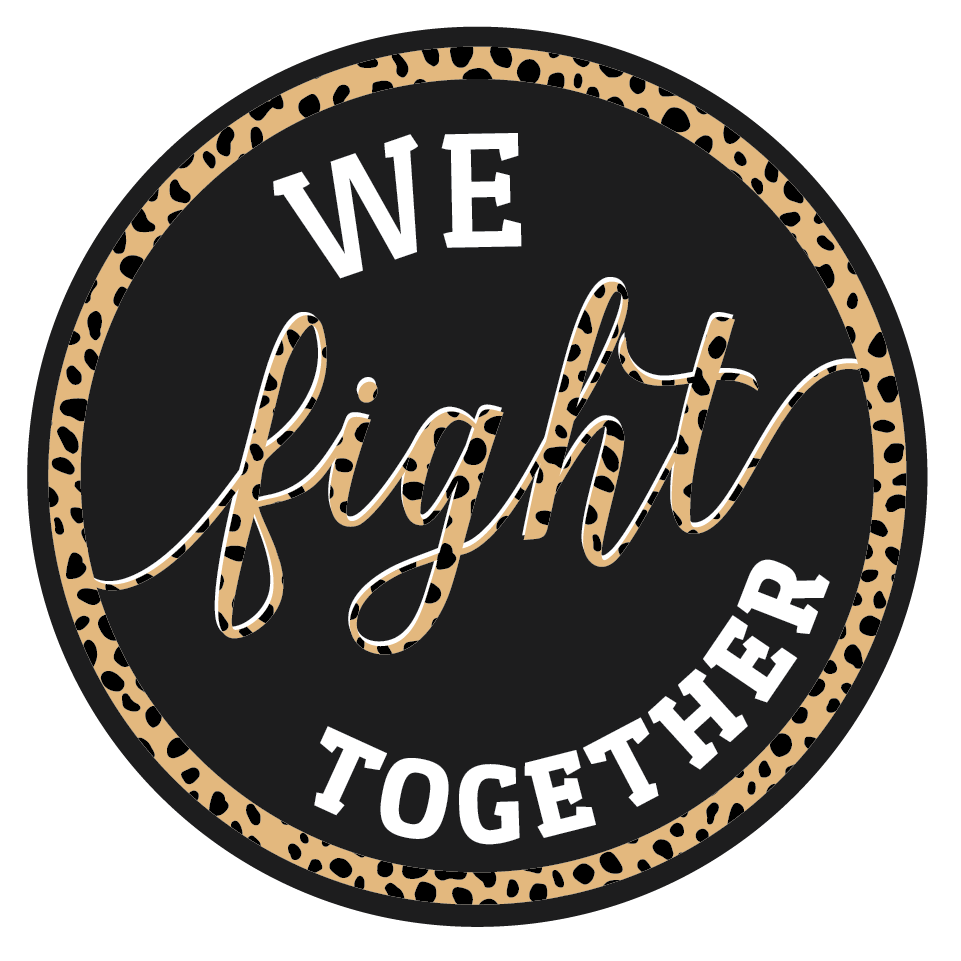 We Fight Together Sticker