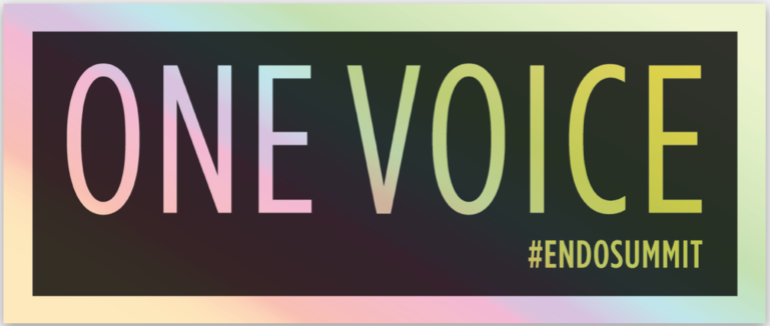 ONE VOICE Holographic Sticker