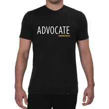 Load image into Gallery viewer, Advocate #endometriosis - Unisex Tee