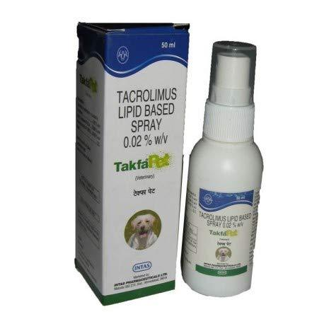 Intas Takfa Pet Spray - 50ml BY JOLLY AND CUTIE PETS (PACK OF 1) - Amanpetshop-