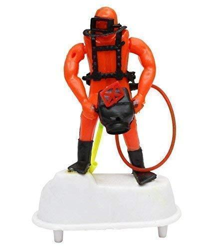 Jacky Treats Toy Scuba Diver Camera Man Aquarium Decorative Ornaments for Fish Tank for Air Bubbles - Amanpetshop-