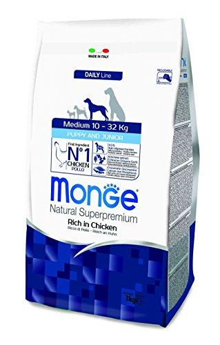 Monge Daily Line - Medium Puppy & Junior with Chicken 3 kg