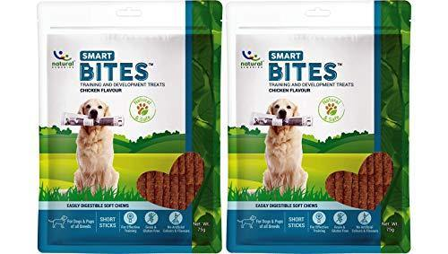 Natural Remedies Smart Bites, Chicken Flavour, 75 GMS (Pack of 2 Treats)