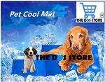 Jacky Treats Pet Dog and Cat Cooling Gel Mat Bed Summer Heat Relief Non-Toxic Cushion Pad (50 x 65 cm) - Amanpetshop-
