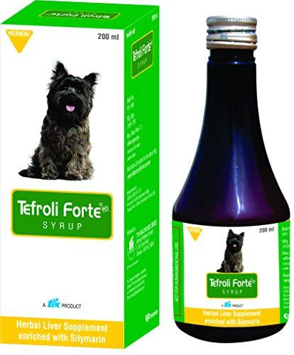 TTK Tefroli Forte Syrup Herbal Liver Supplement for Dogs - 200ml by Jolly and Cutie Pets - Amanpetshop-
