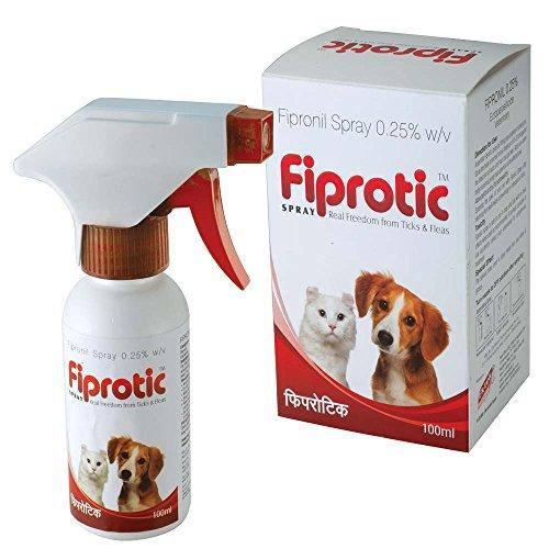 all4pets Fiprotic Tick and Fleas-free Spray (100 ml) - Amanpetshop-