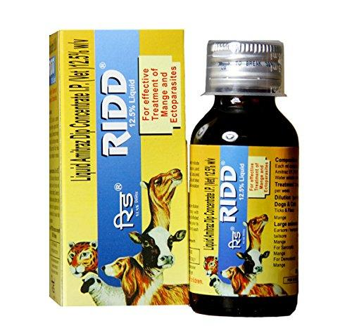 Dog Lovers Ridd Anti-Tick and Flea Solution Controller (60 ml) - Amanpetshop-