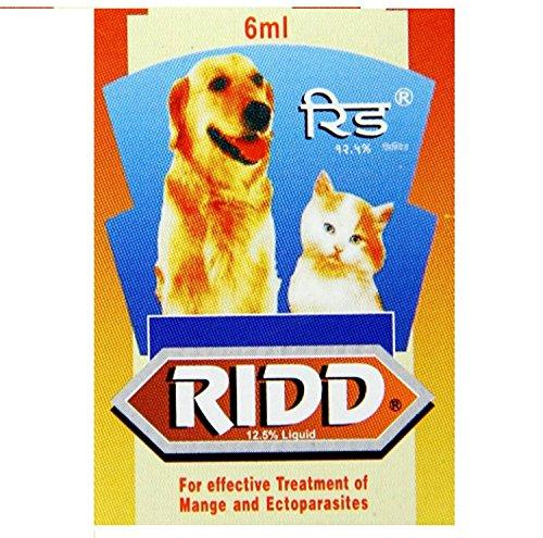 Dog Lovers Ridd Anti-Tick and Flea Solution Controller (6 ml) - Amanpetshop-